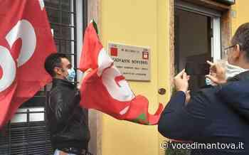 Ostiglia - Intitolata a Giovanni Bonventi la nuova sede della Cgil - La Voce di Mantova