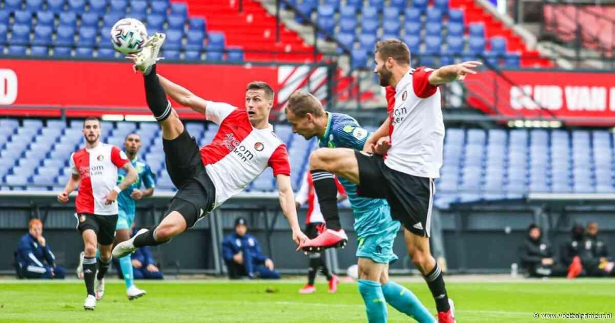 Feyenoord komt zonder steun Legioen niet langs Sparta in derby