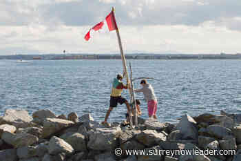 Questions regarding curious Canadian flag at end of White Rock Pier answered - Surrey Now-Leader