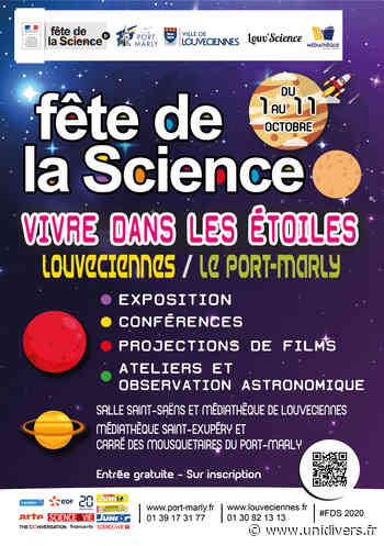 Exposition : Vivre dans les étoiles vendredi 2 octobre 2020 - Unidivers