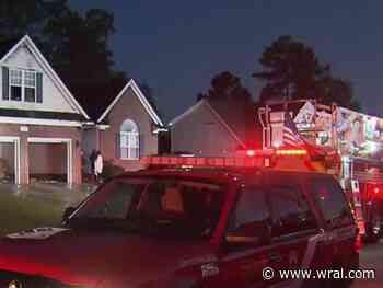 Three people rescued from Fayetteville house fire