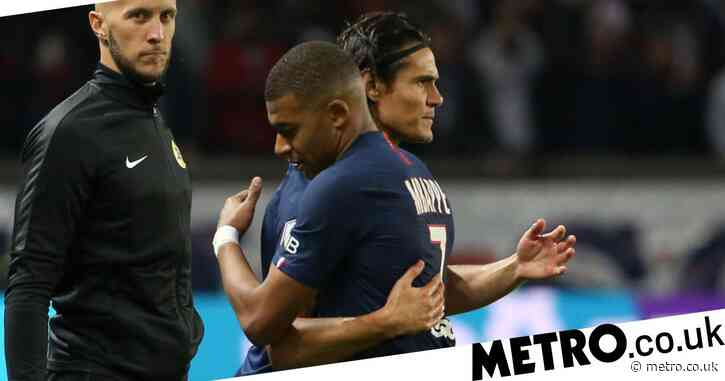 Kylian Mbappe sends message to Edinson Cavani ahead of PSG's clash with Manchester United