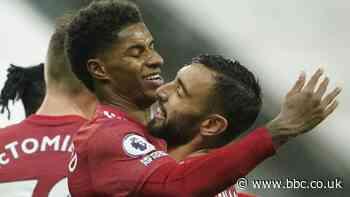 Newcastle 1-4 Man Utd: Visitors produce late flourish to earn welcome win