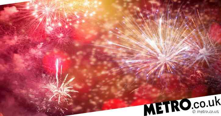 Where are drive-thru fireworks displays happening in the UK this year?