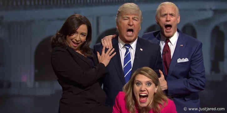 'SNL' Pokes Fun at Trump & Biden's Dueling Town Halls - Watch! (Video)