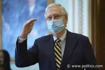 McConnell sets up votes on narrow coronavirus relief proposal