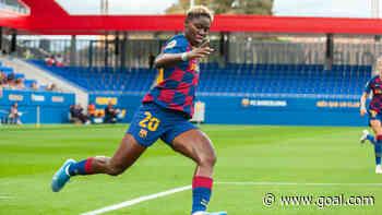 Oshoala scores first goal of the season as Barcelona continue winning streak