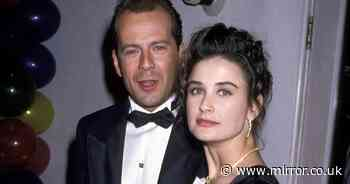 Inside Demi Moore's great relationship with ex Bruce Willis on 20th anniversary of divorce - Mirror Online