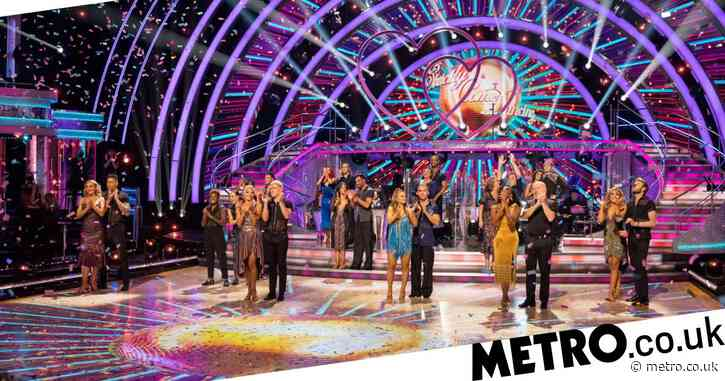When is the first Strictly Come Dancing live show as pairings are revealed?