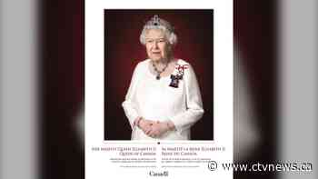 Canada reveals new official portrait of the Queen