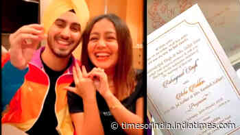 Wedding card goes viral! Are Neha Kakkar and Rohanpreet Singh getting married this October?