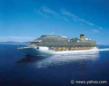 Eight passengers test positive for COVID-19 on Costa Cruises ship