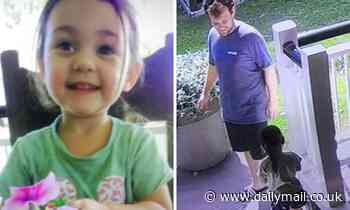 Desperate search for missing three-year-old after she vanished from a home with a 33-year-old man
