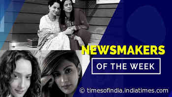 #NewsmakersOfTheWeek- FIR registered against Kangana; Rhea to take LEGAL action against Ankita