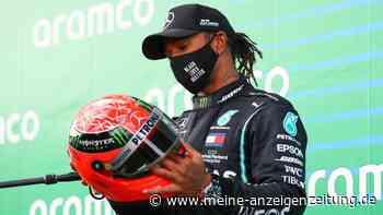 Formel 1: Michael Schumacher? Lewis Hamilton überrascht mit knallhartem Spruch