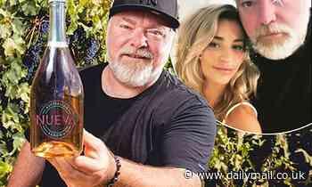 Kyle Sandilands and girlfriend Tegan Kynaston's premium wine Nueva Sangria wins BWS contest