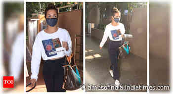 Malaika Arora returns from her Goa vacation