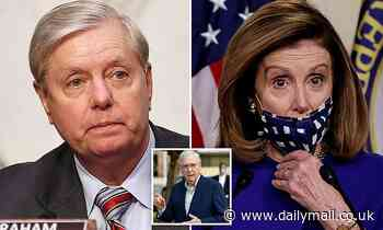 Lindsey Graham wants a COVID bill but slams Pelosi for trying to 'change election laws'