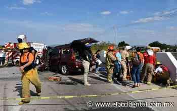 Aparatoso choque en Zapotlanejo deja a tres personas heridas - El Occidental