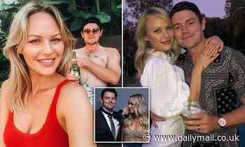 Lachie Neale won the2020 Brownlow Medal but it was his wifeJulie who stole the show