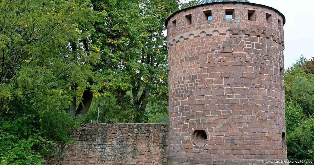 Die Burg Kerpen in Illingen ist Wahrzeichen der Gemeinde - Saarbrücker Zeitung