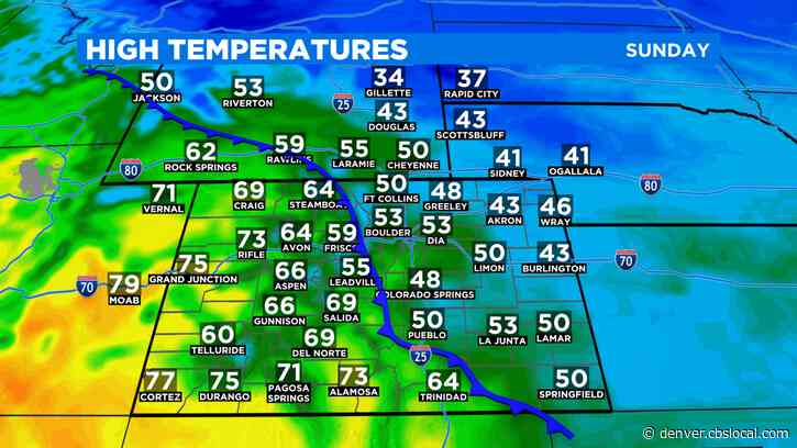 Denver Weather: Break For Firefighters Before Wind Returns To Foothills Overnight