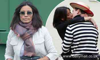 Melanie Sykes steps out in London after whirlwind six-day fling with 23-year-old gondolier