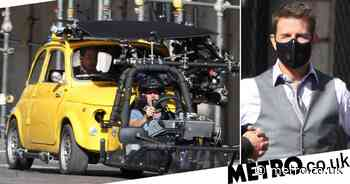Tom Cruise and Hayley Atwell continued filming Mission: Impossible - Metro.co.uk