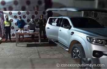 Pareja fue capturada mientras transportaba coca y dinero en efectivo en Villagarzón - Conexión Putumayo
