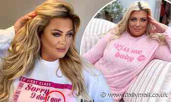 Fans poke fun at Gemma Collins after a spelling mistake is spotted on one ofher new sweatshirts
