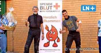 Landesrekord: 65-Jähriger gibt 200. Blutspende in Breitenfelde - Lübecker Nachrichten