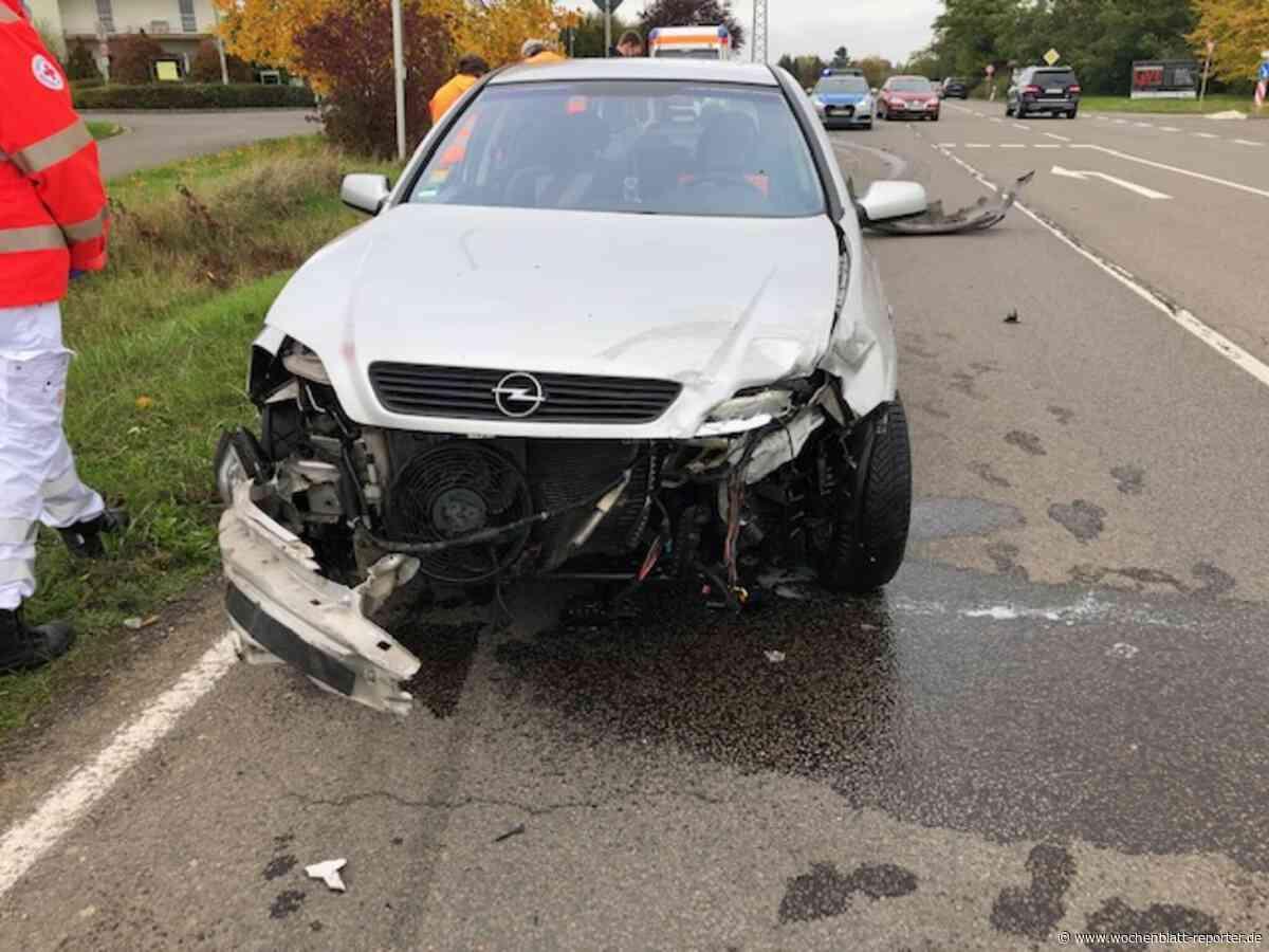 Edenkoben/Edesheim: Verkehrsunfall auf der L516: Vorfahrt missachtet - Edenkoben - Wochenblatt-Reporter