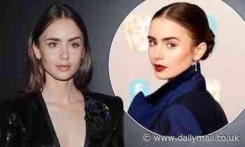 Lily Collins wishes she still had an English accent