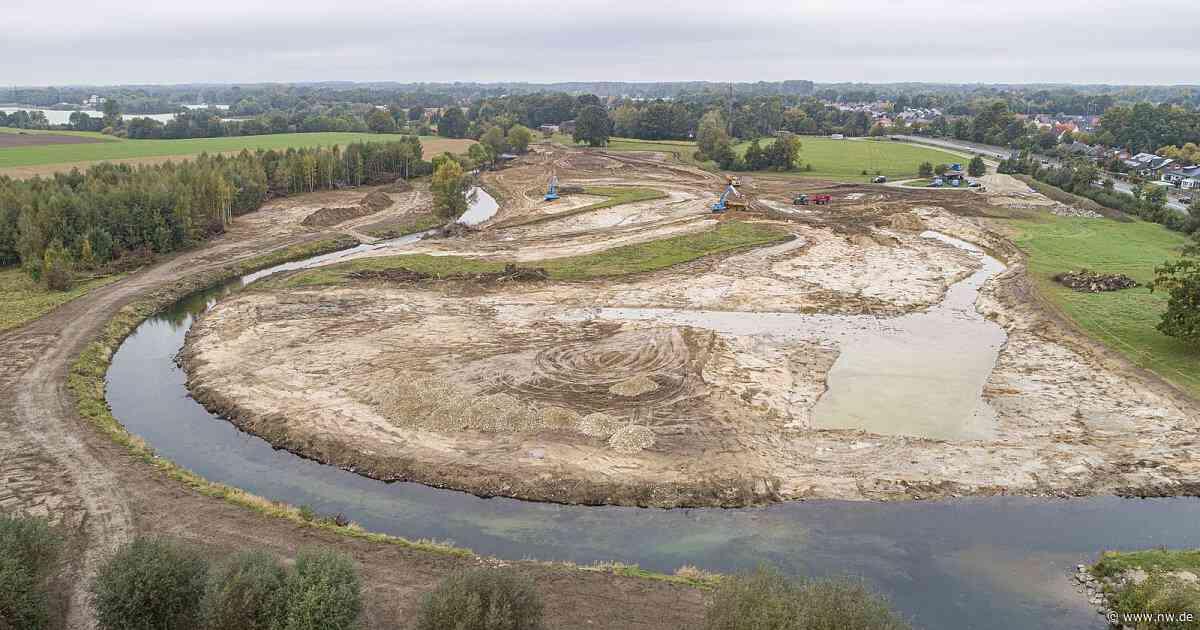 Die Lippe kann in Paderborn-Sande wieder schlängeln und schwemmen - Neue Westfälische