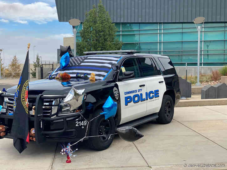 Flags To Be Lowered For Fallen Commerce City Police Officer Curt Holland