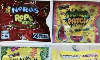 Police in Lake District issue warning after schoolchildren were found eating cannabis sweets