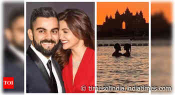 Virat shares a loved-up pic with Anushka