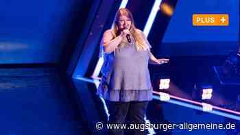 "Alexandra Jörg aus Krumbach singt bei ""The Voice of Germany"" - Augsburger Allgemeine"