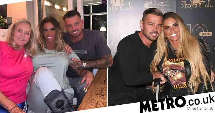 Katie Price's boyfriend Carl Woods wishes his 'mother-in-law' happy birthday