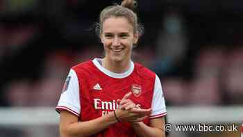 Miedema claims WSL goals record as Arsenal thrash Tottenham