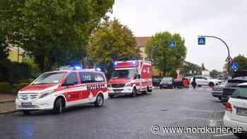 Auto erfasst 79-Jährige in Neubrandenburg - Nordkurier