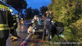 ▶ Schwer verletzter Familienvater – Unfallursache steht fest - Nordkurier