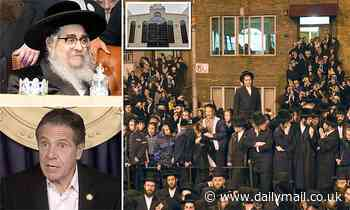 Hasidic synagogue slams 'attacks' that led to Gov. Cuomo banning wedding grand rabbi's grandson