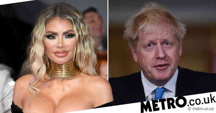 Towie's Chloe Sims brands Boris Johnson a 'blonde Grinch' over fears that he's cancelled Christmas