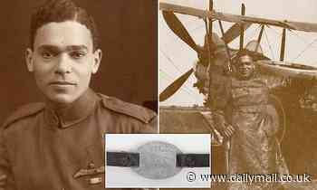 ID bracelet of first black pilot serving in Royal Flying Corps during World War One goes to auction
