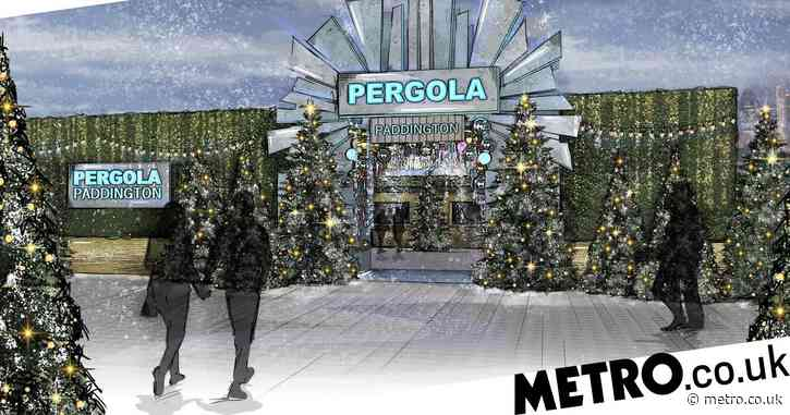 There is a winter wonderland in the form of a pergola coming to London