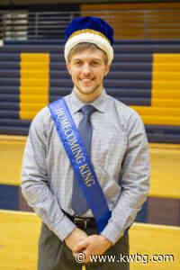 Boone Grad Frost, Postville's Toj BVU Homecoming Royalty - kwbg.com