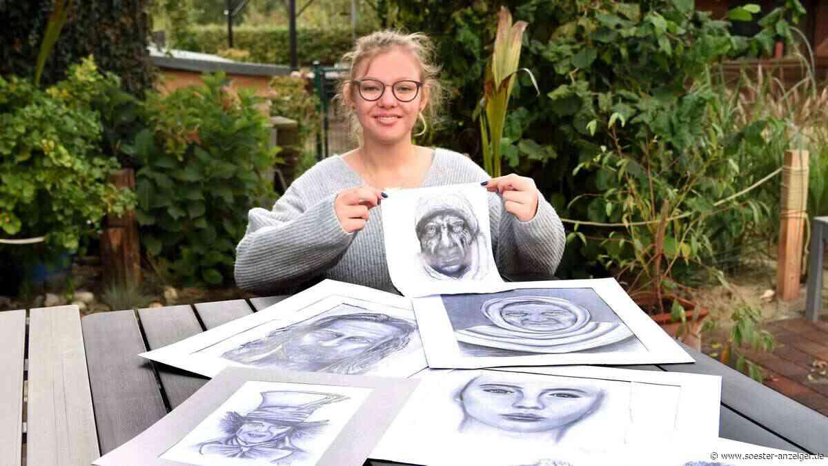 """Schülerin Laura Becker aus Niederense gewinnt bei Jugendwettbewerg """"jugend creativ"""" - soester-anzeiger.de"""