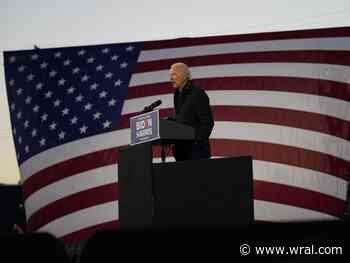 Joe Biden speaks in Durham, encourages voters to cast their ballots early