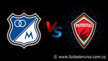 Millonarios vs Patriotas en vivo online: Liga BetPlay, en directo - Fútbol en vivo